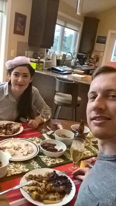 Christmas Dinner in Nova Scotia