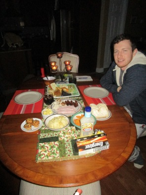 Buffet by candlelight
