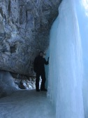 It was like being in frozen with all the icy waterfalls