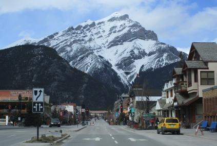 Banff in April