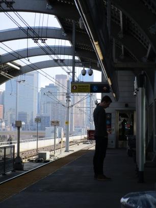 C-Train platform