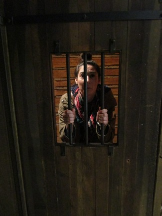 In prison in Fort Calgary