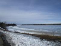 Winter at Glenmore Resovoir