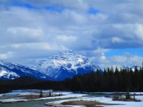 Mountain Views on the Icefield Parkway