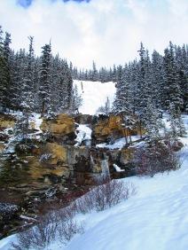 Waterfalls on the roadside