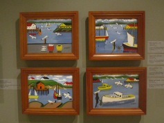 Maud Lewis Nautical pieces