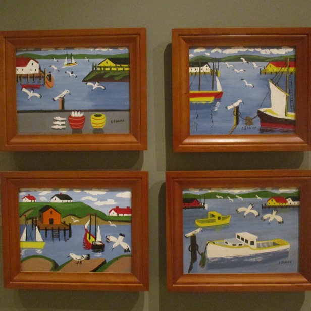 Maud Lewis Nautical pieces