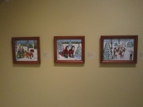 Maud Lewis Winter pieces