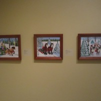 Maud Lewis Winter pieces