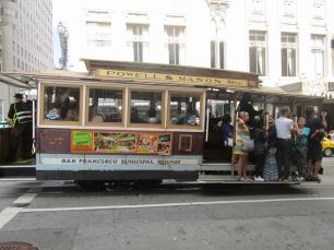 Street Cars in San Francisco are a tourists attraction in itself