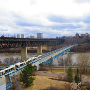 Edmonton in mid-April