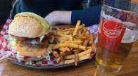 Burgers at relish