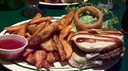 Darrell's Hawaiian burger