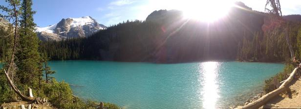 Panoramic shot of Middle Lake