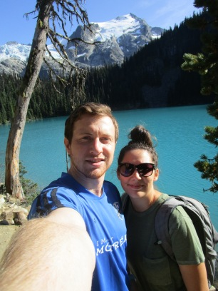 Matt and Me at Joffre Lakes