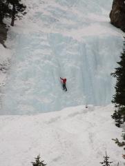 Lake Louise Ice climbers