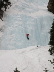 Lake Louise Ice climbers