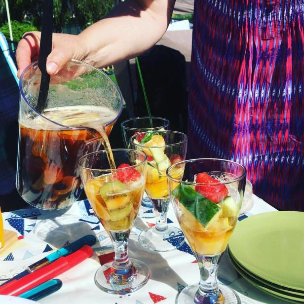 Summer drinks... Pimms o'clock