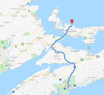 Halifax to PEI