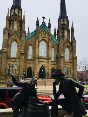 Charlottetown statues