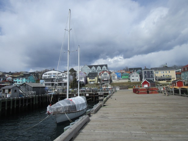 Lunenburg in late April