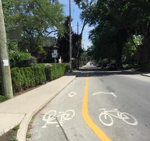 Hamilton Bike Lanes